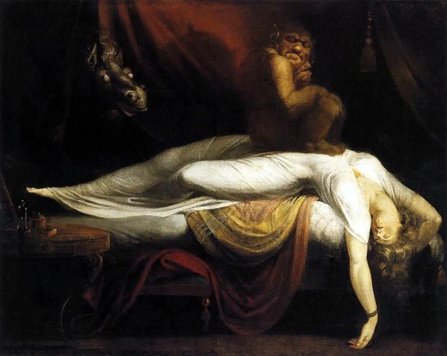 10.henry Fuseli de nachtmerrie 1781